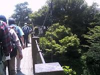 白沢渓谷・吊り橋