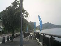 木曽川沿いから見た犬山城