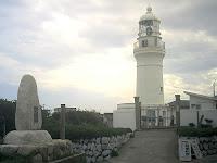 御前崎灯台(喜びも悲しみも幾年月…)