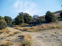 El Castell des del davant de la casa solar