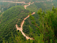 El Coll de Can Tripeta que separa el Sot de Bellovir del Sot de Montmany