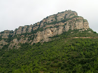El Puig Ciró des del Coll de Can Tripeta