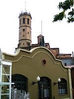 Església de Sant Feliu des del carrer Fonteta