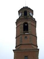 Campanar de l'església de Sant Hipòlit de Voltregà