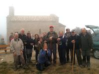 Part del grup a Sant Martí Xic