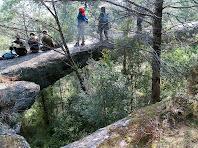 El Pont Foradat o Pont de les Arnaules