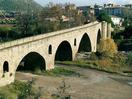 Pont gòtic del Raval de Manresa i el Pont de Vilomara