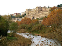 Vista del Santuari de la Cova de Sant Ignasi de Loiola