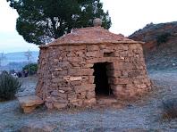 Barraca de vinya del Coll del Puig de Sant Valentí