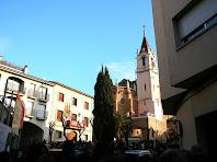 Plaça de l'Ajuntament i església de Sant Martí. Autor: Carlos Albacete