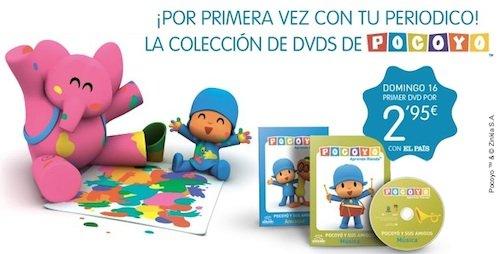 """AMPA """"EEI María Urrea"""": Colección de DVDs de Pocoyó - photo#11"""