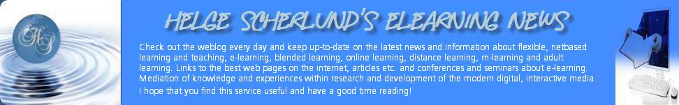 Helge Scherlund&#39;s eLearning News