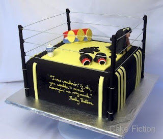 Boxing Ring Cake Accessories