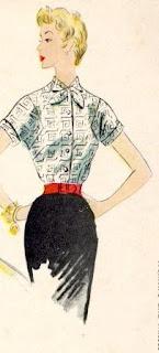 Vintage lady image