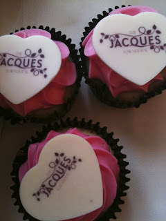 The Jacques Townhouse cupcakes