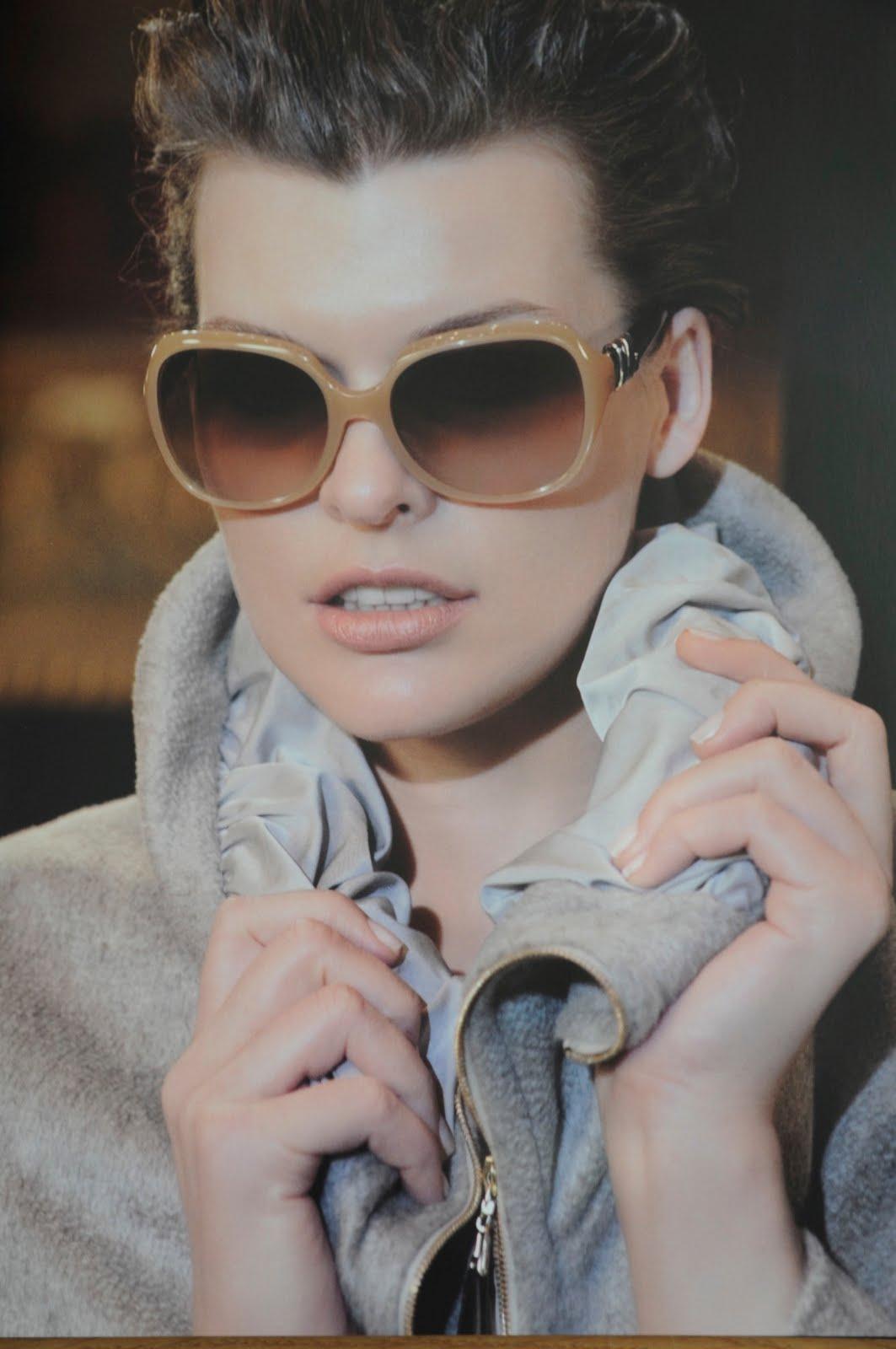 Milla Jovovich wearing Escada A/W 2010/11