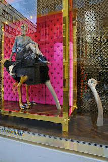 Louis Vuitton window display, London
