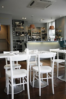 The chic cafe at The Modern Pantry
