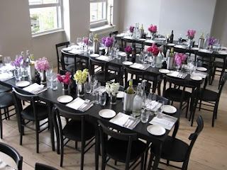 Private dining room, The Modern Pantry, Clerkenwell