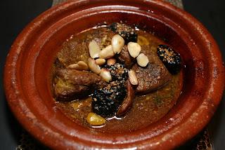 Lamb tagine, El Cantara restaurant