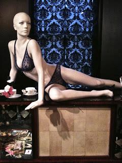 Apartment C lingerie, mannequin