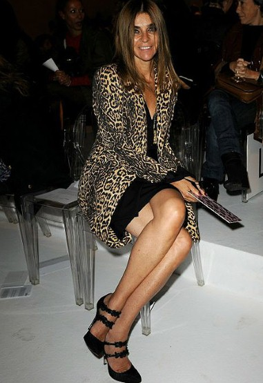 Carine Roitfeld, Milan Fashion Week