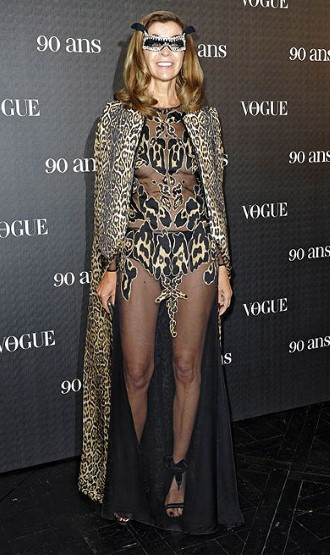 Carine Roitfeld, Vogue Paris 90th anniversary