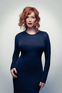 Christina Hendricks curvy figure, Mad Men