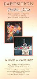 Une de mes expositions en 2007...mas il y à encore