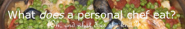 What does a personal chef eat?
