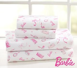 A sweet little Barbie pillow. $26.