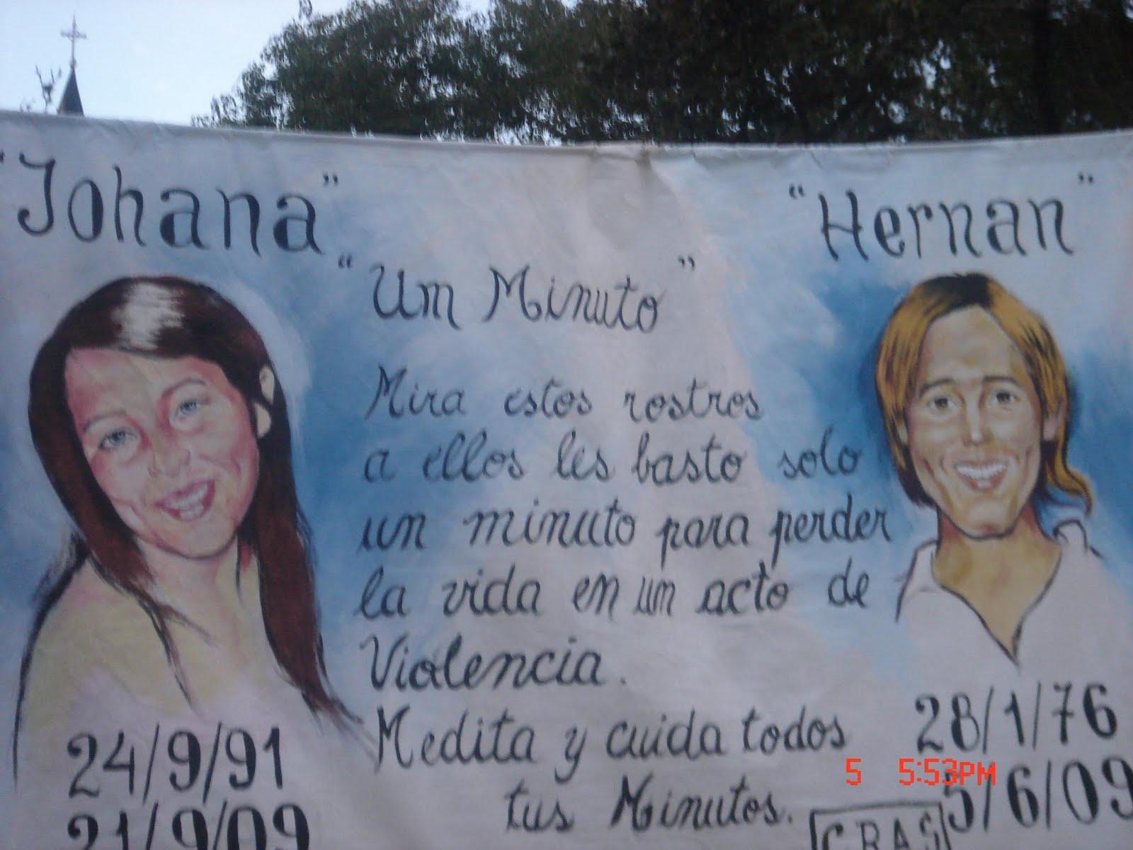 Marcha por Justicia de Hernana bernal el 5 de Junio 2010
