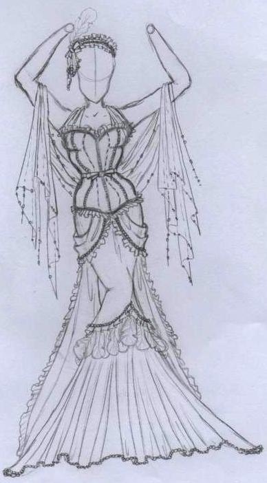 Il Disegno: La passione di disegnare abiti
