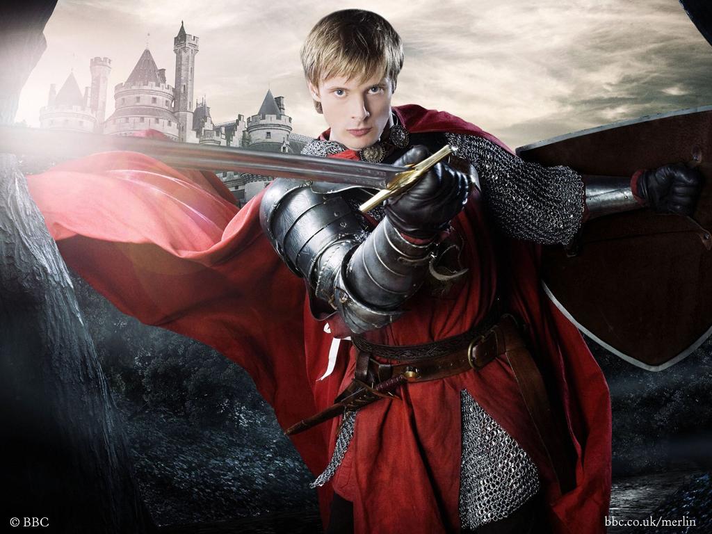 Merlin season 3  2010  - Episode 13  Updated King Arthur And Merlin