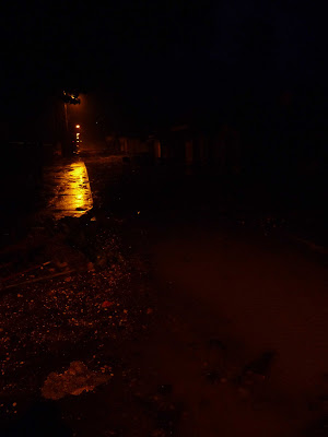 Guyonneau, innondé en pleine nuit