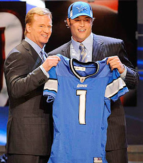 Detroit Lions draft Matthew Stafford