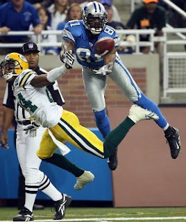 Detroit Lions receiver Calvin Johnson