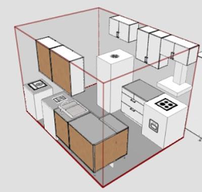 Kitchen reno for condos for Ikea kuchen planer