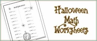 Printable Halloween Math Worksheets