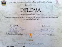 """I Encuentro Literario Int. """"Letras de La Posada"""""""