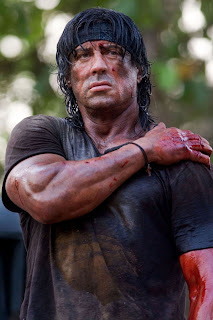 Nu på kvällen så var jag och älsklingen och kollade på Rambo 4. O shit vad  bra den var. Den var så spännande och den var så realistisk gjord med. 4a7e1ed717caf
