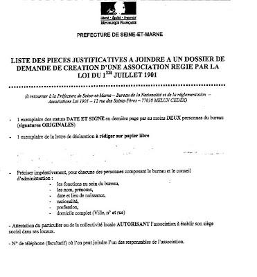Mmaxe dojo cr ation de l 39 association aupr s de la pr f cture - Bureau des associations prefecture ...