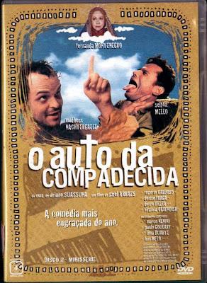 Filme Poster O Auto da Compadecida DVDRip RMVB Nacional
