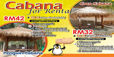 Sewa cabana - Bukit Gambang Water Park