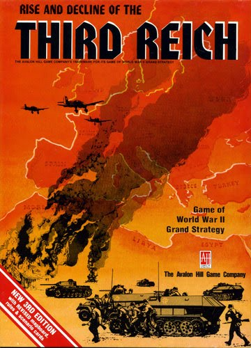 Map and counters tahgc third reich 4th ed 19741981 rise and decline of the third reich 4th ed is a highly detailed simulation at the strategic level of the war that began with the german attack on poland altavistaventures Images