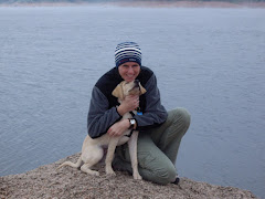 Me and Sam at Rampart Resevoir