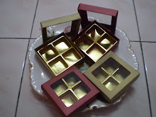 Choc in normal color Box 4 cav RM6.50