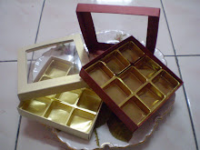 Choc in normal 9 cav box RM13.00