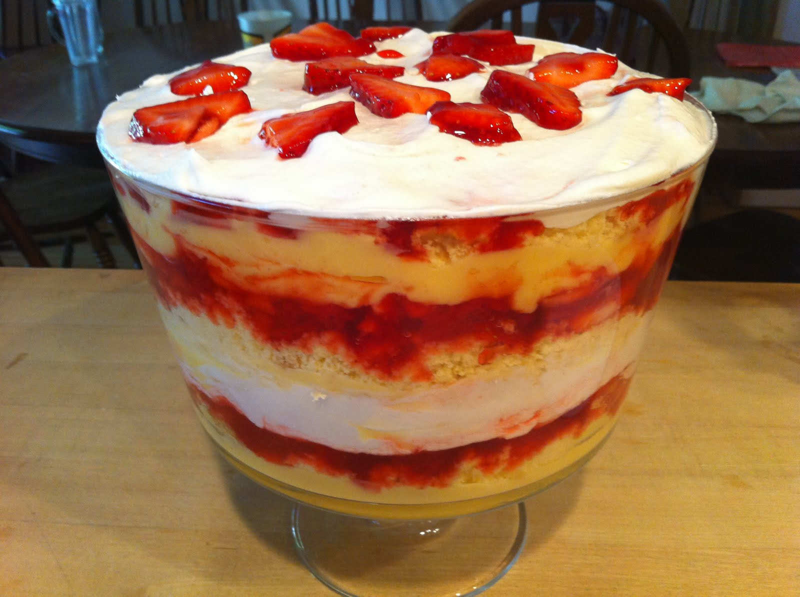 Our Journey Healthy Trifle Yum