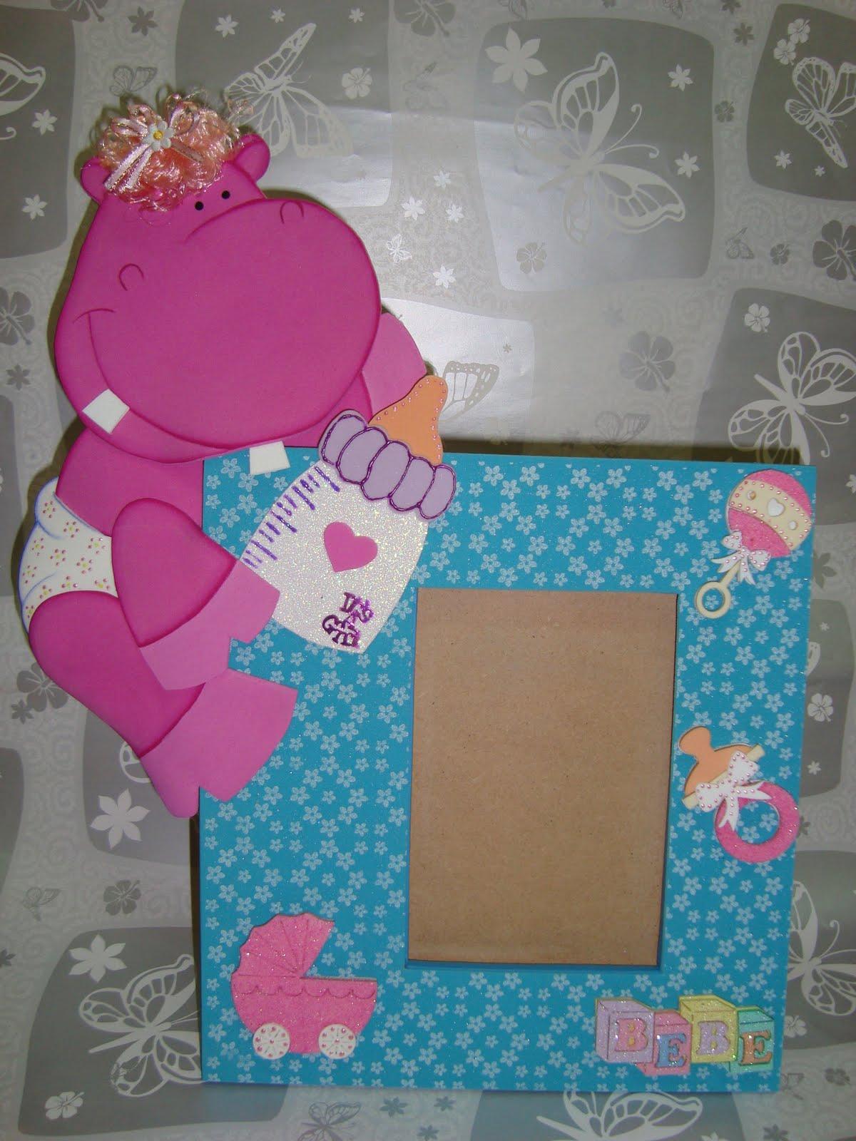 Bi-Amore Arte: Portaretrato Hipopotamo!!